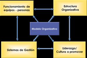 De la estructura organizativa al modelo organizativo