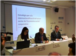 A Taula do Terceiro Sector e ACCIÓ acordan impulsar a internacionalización das entidades